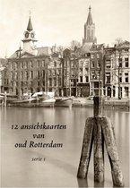 Wenskaarten Set - Rotterdam - 12 ansichtkaarten van oud Rotterdam - serie 1