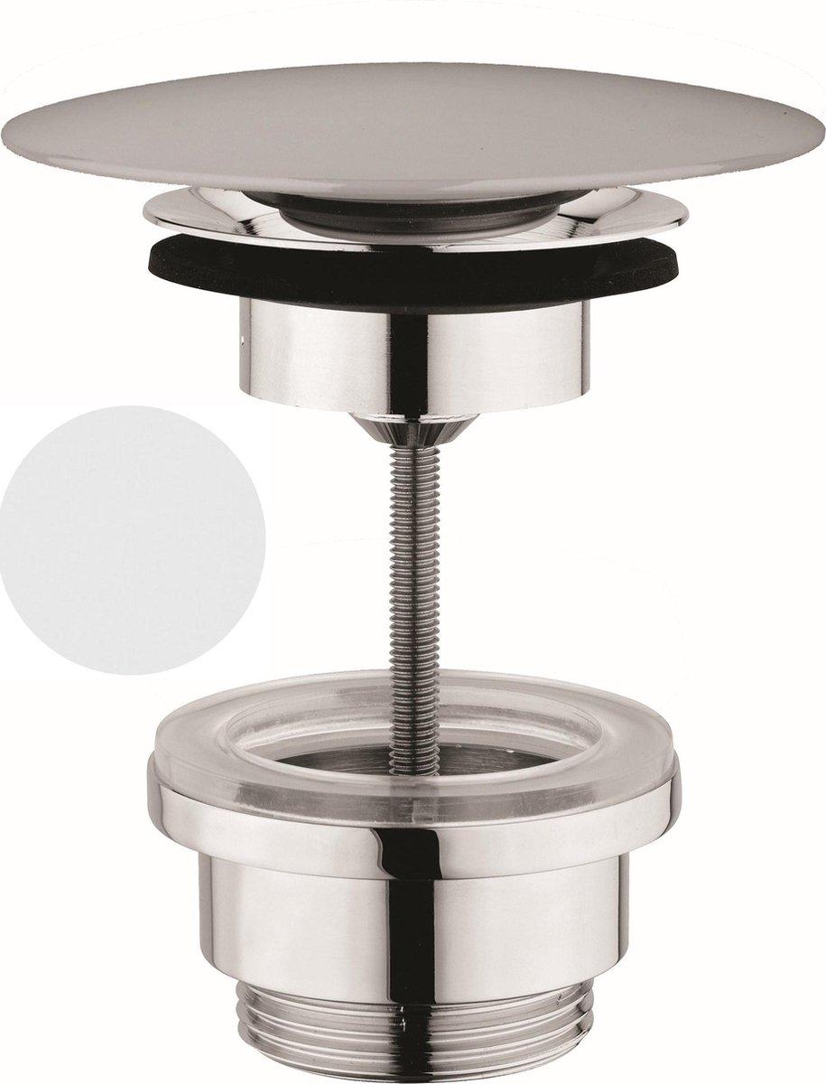 Sub 065 pop-up plug 1 1/4, mat wit