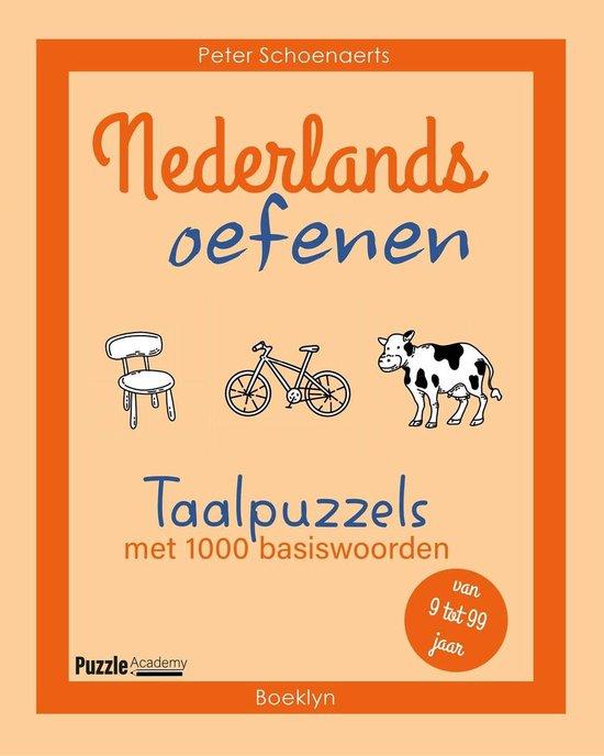 Boek cover Nederlands oefenen van Peter Schoenaerts (Paperback)