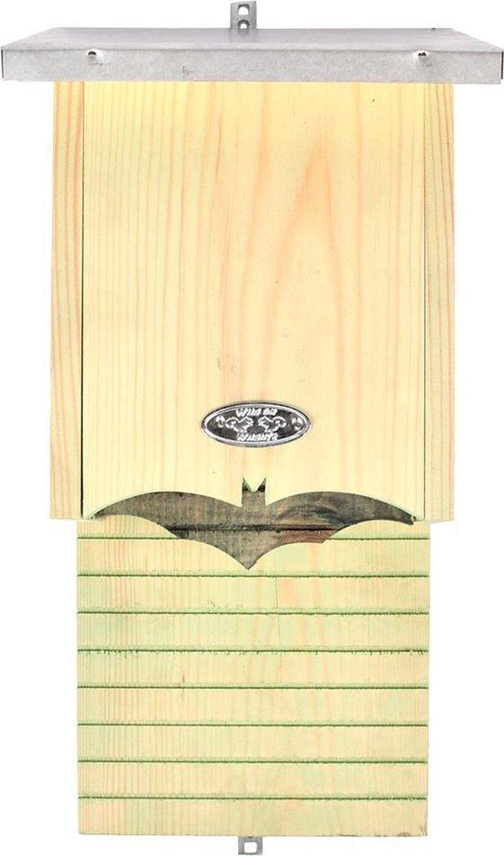 Esschert Design Vleermuiskast 19 X 38,8 Cm Hout/zink Naturel