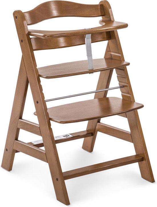 Product: Hauck Alpha+  Kinderstoel - Walnoot, van het merk Hauck