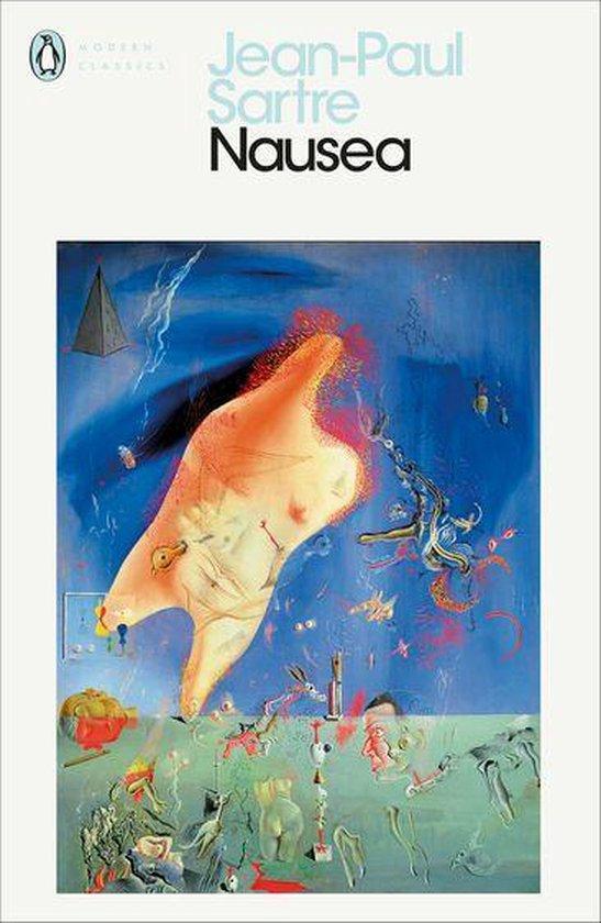Boek cover Nausea van Jean-Paul Sartre (Onbekend)