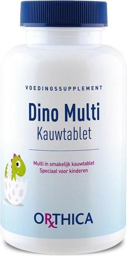 Orthica Dino Multi Multivitaminen - 60 Kauwtabletten