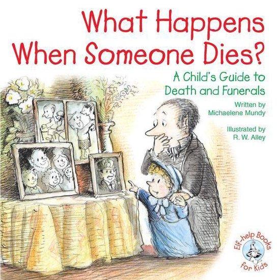Omslag van What Happens When Someone Dies?