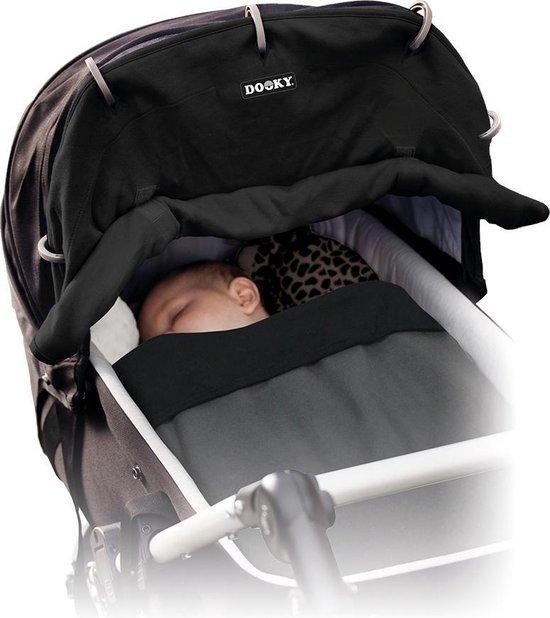 Dooky Zon Bescherming Kinderwagen - Zwart