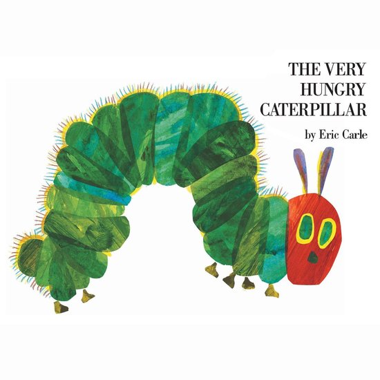 Boek cover The Very Hungry Caterpillar van Eric Carle (Onbekend)