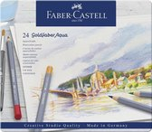 Faber Castell FC-114624 Aquarelkleurpotlood Faber-Castell Goldfaber Etui 24 Stuks