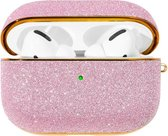Bling shiny glitter case for AirPods Pro - Roze