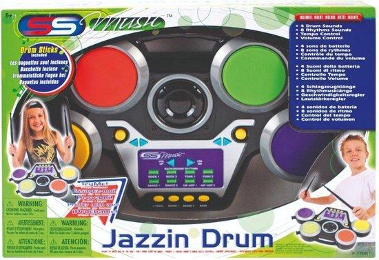 Thumbnail van een extra afbeelding van het spel SS Music Jazzin Drum Elektrisch Drumstel