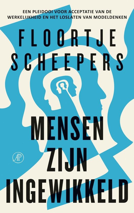 Boek cover Mensen zijn ingewikkeld van Floortje Scheepers (Onbekend)