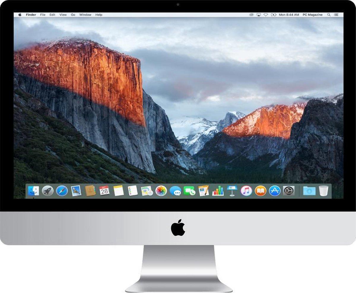 Apple iMac 21.5 inch Refurbished – Quad Core i5 2 8 Ghz – 8GB – 1TB HDD – Eind 2015 – A-grade