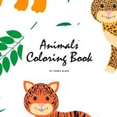 Animals Coloring Book for Children (8.5x8.5 Coloring Book / Activity Book)