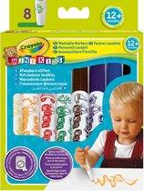 Crayola Mini Kids 8 Viltstiften bolle punt