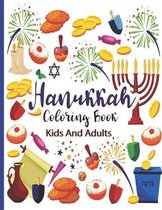 Hanukkah Coloring Book For Kids And Adults