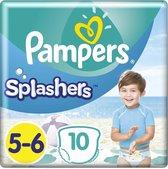 Pampers Splashers - Maat 5-6 (14+ kg) - 10 Wegwerpbare Zwemluiers
