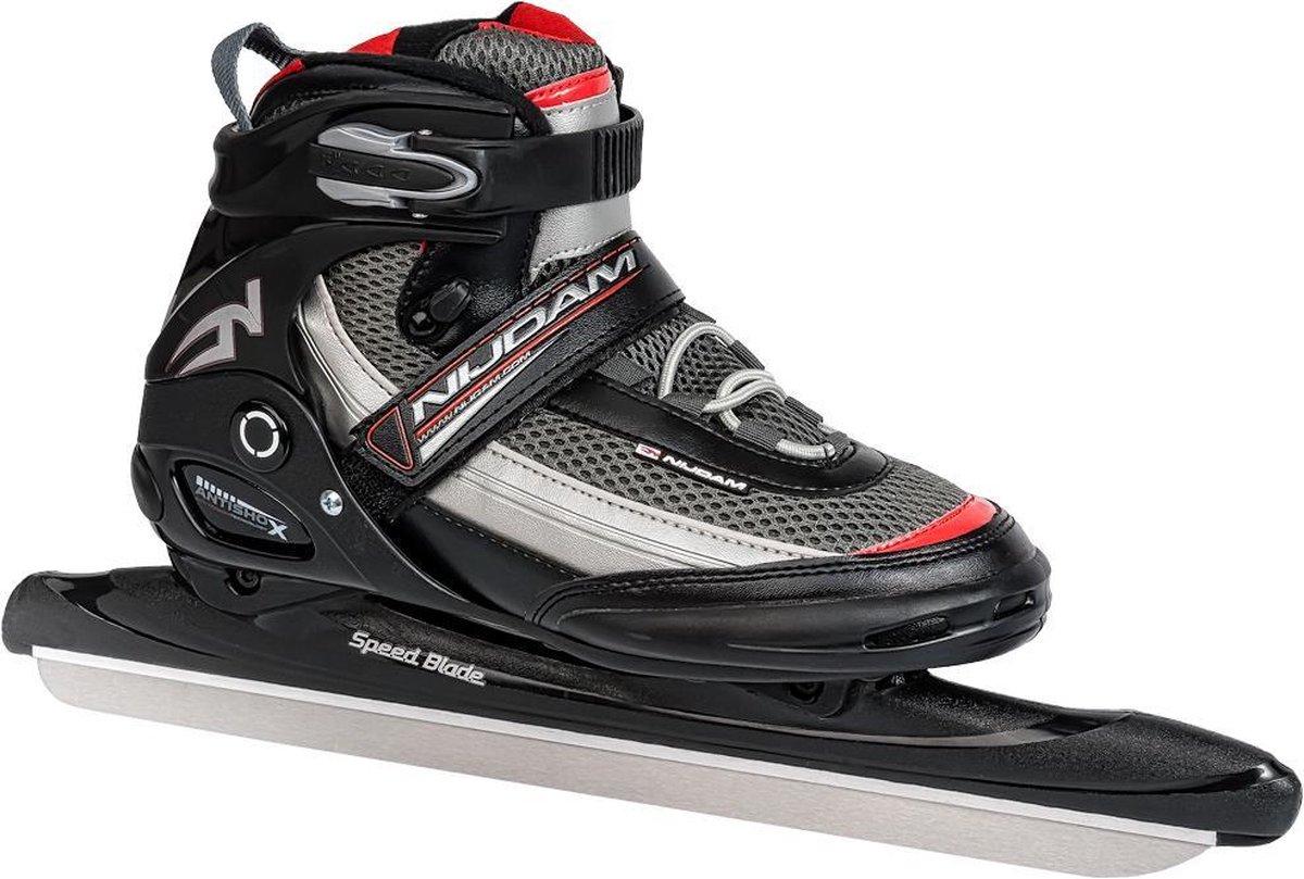 Nijdam Pro Line Speed Skates - Schaatsen - Unisex - Zwart - EU39