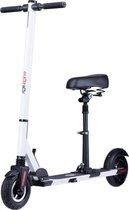 ROLLZONE ®  ES02, elektrische step met zitje, 250 watt motor en lithium accu - wit - opvouwbaar