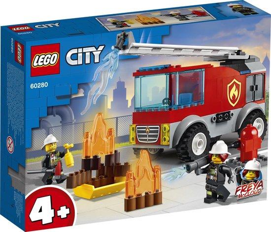 LEGO City 4+ Ladderwagen - 60280