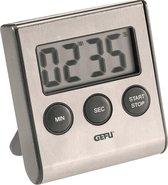 GEFU Digitale timer- Zilver - RVS