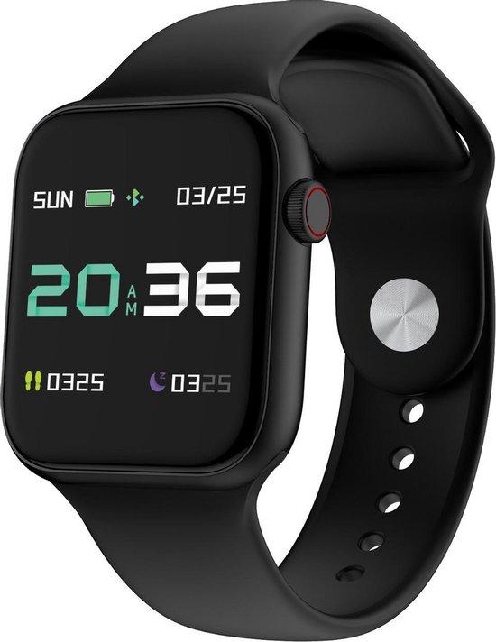 PowerLocus PW4 - Smartwatch - Zwart