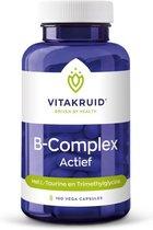 Vitakruid / B-Complex Actief - 100 vega capsules