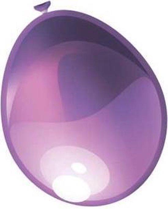 Ballonnen parel violet metallic 50 stuks 30 cm