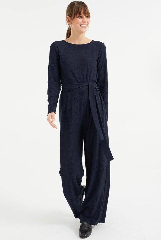 geregistreerd partnerschap kleding dames jumpsuit donkerblauw