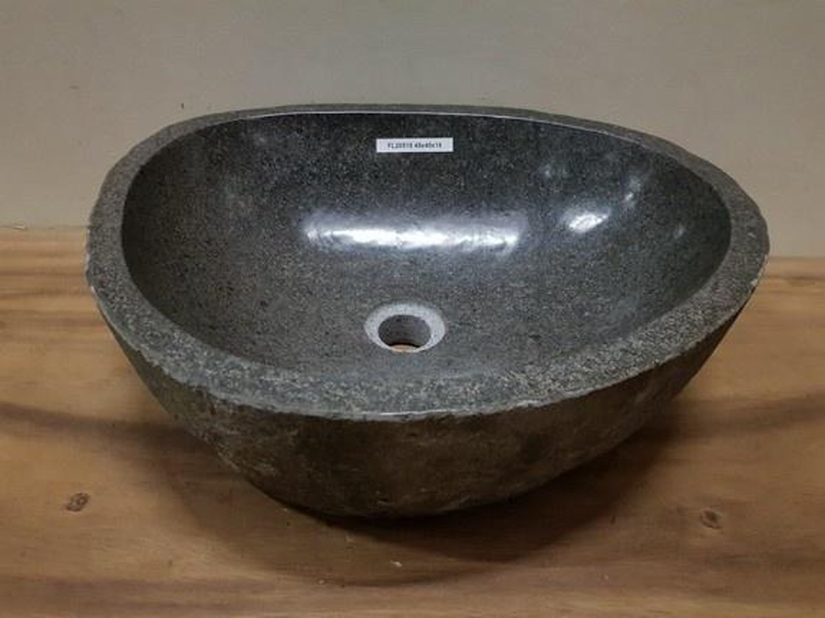 Waskom natuursteen FL20518 - 48x40x16cm