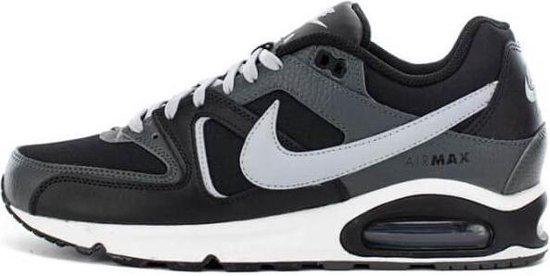 Nike Air Max Command Leather Sneaker - Zwart/Grijs - maat 44