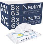 Neutral Baby Billendoekjes Parfumvrij - 1008 stuks - Voordeelverpakking