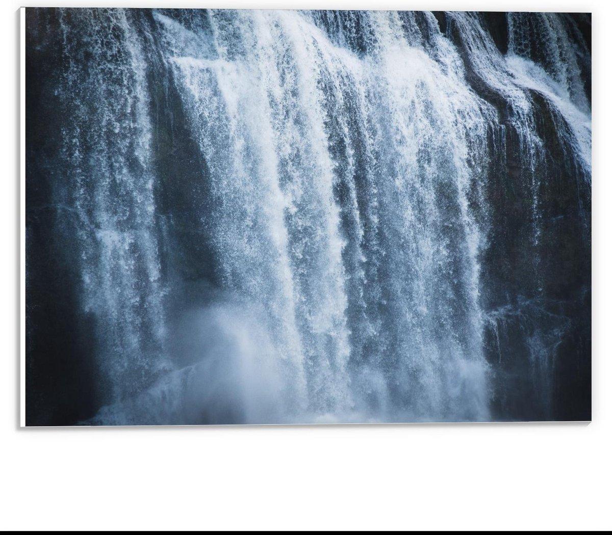 Forex - Hoge Waterval - 40x30cm Foto op Forex