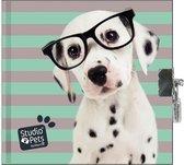 Afbeelding van Studio Pets Dagboek Dalmatiër - 13.5 x 13  cm - Inclusief slotje