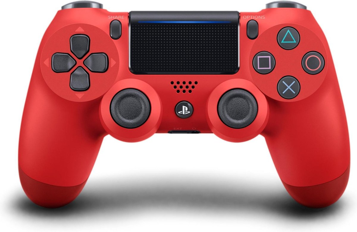 Sony Dual Shock 4 Controller V2 - PS4 - Rood