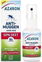 Azaron Muggenspray - Anti Muggen 50% DEET - Muggenbescherming