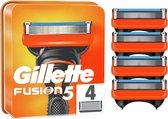 Gillette Scheermesjes Fusion5 4 stuks