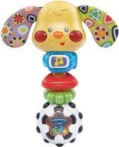 VTech Baby Puppy Rammelaar - Educatief Babyspeelgoed - Multikleuren