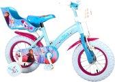 Disney Frozen 2 Kinderfiets - Meisjes - inch - Blauw/Paars - 2 Handremmen