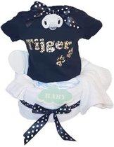 Luiertaart baby T-shirt Tijger - Met gratis afzender kaartje