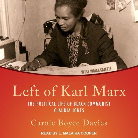 Boek cover Left of Karl Marx van Carole Boyce Davies (Onbekend)