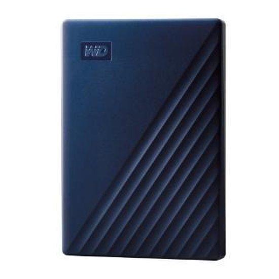 Western Digital My Passport for Mac - Externe harde schijf - 4TB Blauw