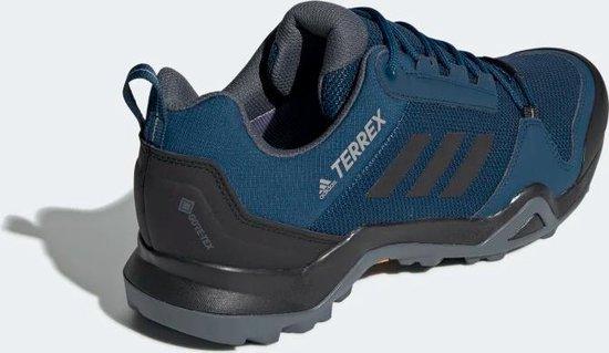 bol.com | adidas Terrex AX3 GTX wandelschoenen heren blauw/zwart