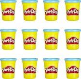 Play-Doh Blauwe Klei - 12 Potjes