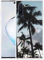 Galaxy Note 10 Hoesje Palmtrees