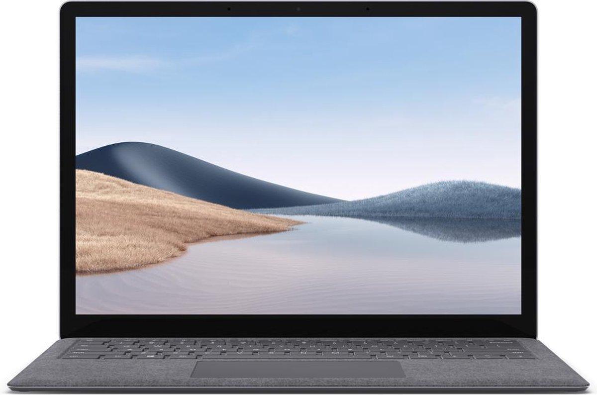 "Microsoft Surface Laptop 4 LPDDR4x-SDRAM Notebook 34,3 cm (13.5"") 2256 x 1504 Pixels Touchscreen Intel® 11de generatie Core™ i5 8 GB 512 GB SSD Wi-Fi 6 (802.11ax) Windows 10 Home Platina"