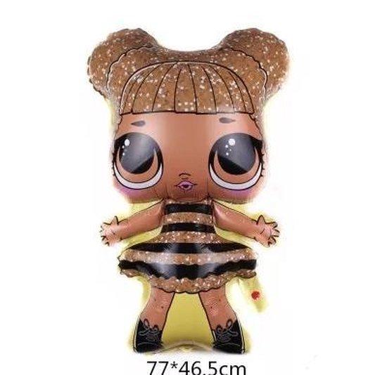 Folie ballon LOL Bee, 77x46 kindercrea