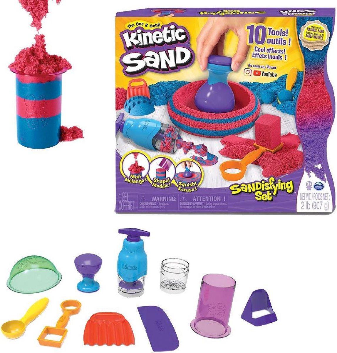 Kinetic Sand Sandisfying Set 907gr