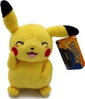 Pluche Pikachu knuffel knipoog 20 cm - Pokemon knuffels - Speelgoed voor kinderen