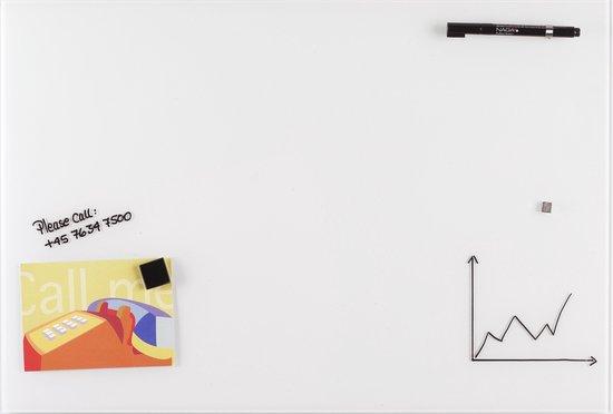 Afbeelding van NAGA  Glassboard 40x60cm Wit