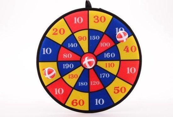 Thumbnail van een extra afbeelding van het spel Sportline klitteband Dartspel 38 cm