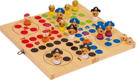 Afbeelding van het spel Small Foot Piraten Eiland - Ludo Bordspel